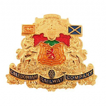 Caledonian Railway Coat Of Arms Collectors Badge